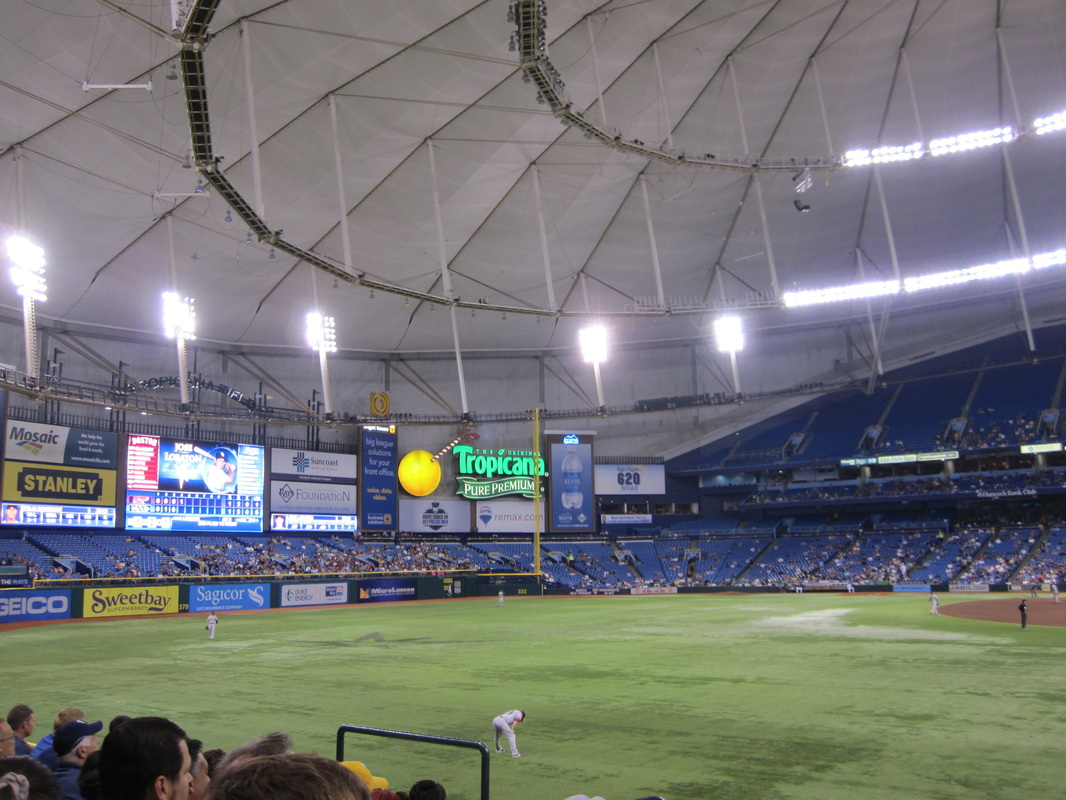 how to get to tropicana field